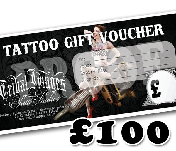 £100 Gift Voucher - Tribal Images