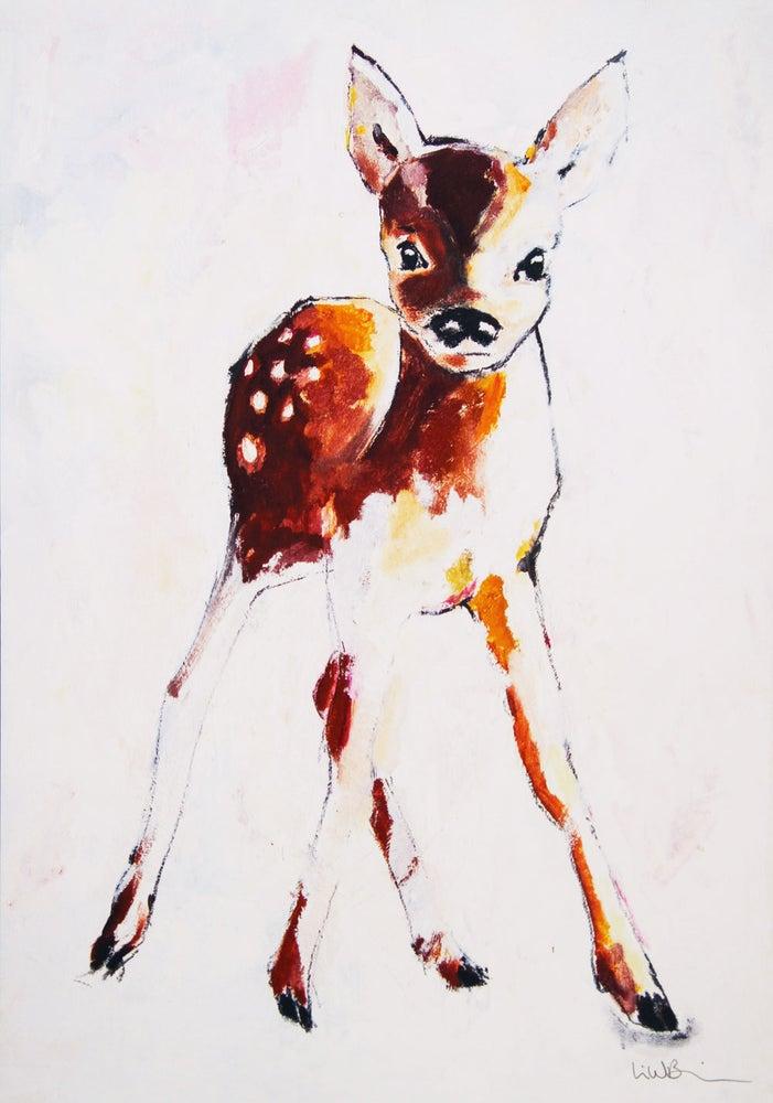 Image of A5/A4 Print # Deer - 79KR/250KR