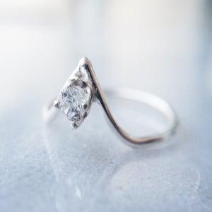 Image of Tiny Sparkler Point Ring