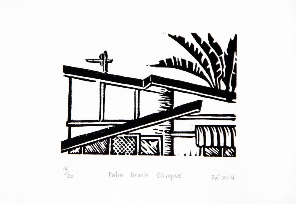 "Image of ""Palm Beach Glimpse""  2014"