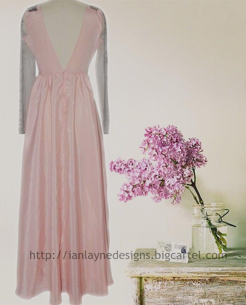 Image of HOT CUTE CLASSY LACE LONG SLEEVE DRESS