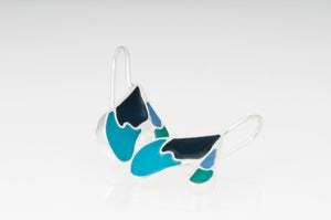 Image of Resinate Sterling Silver Louise Earrings