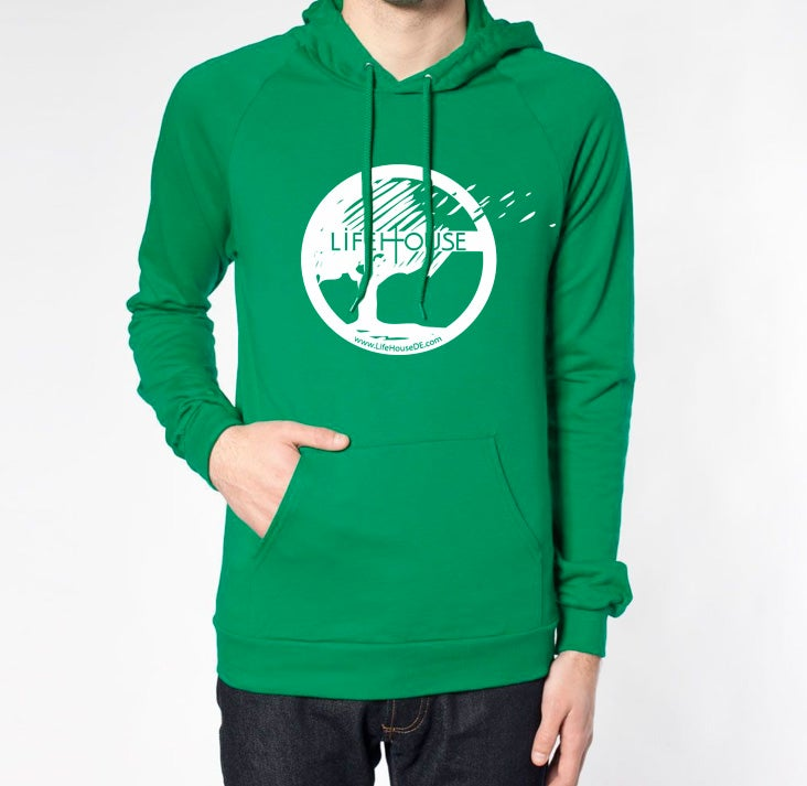Image of LifeHouse Green Hoodie