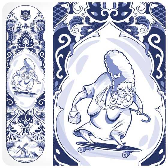 Image of The Delft Blue Oma