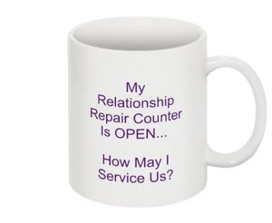 Image of Relationship Repair Counter Mug