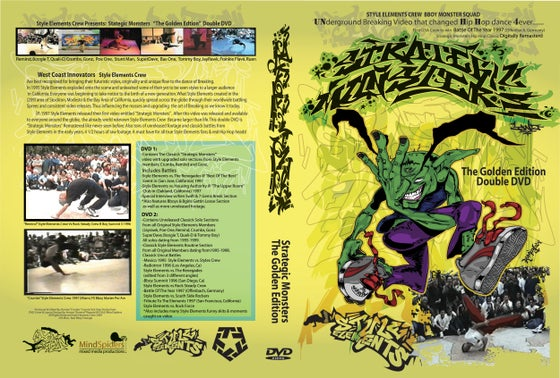 "Image of Strategic Monsters ""The Golden Edition"" Double DVD"