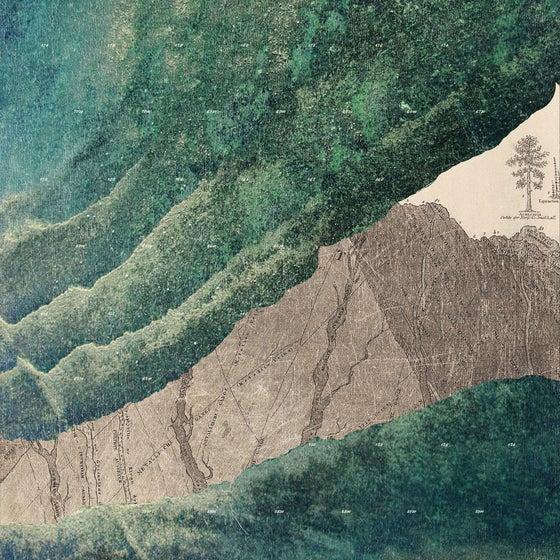 Image of The Folding and the point <br> Sorger était allé dehors, comme après un triomphe