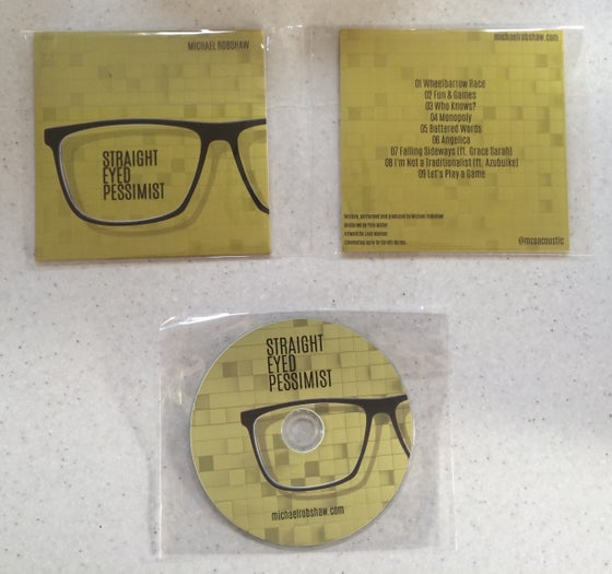 Image of 'Straight Eyed Pessimist' Album Hard Copy
