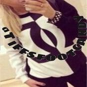 Image of Black White Sweater