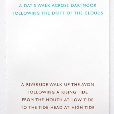 Image of Two Walks by Richard Long