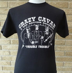 Image of TROUBLE TROUBLE T-SHIRT  (MENS)