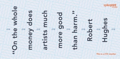 Image of £10 Vouchers