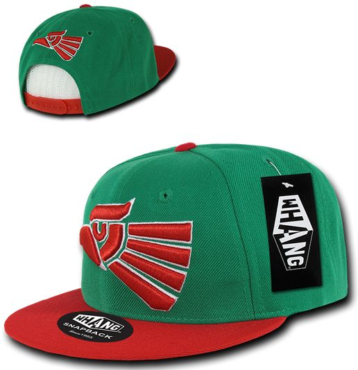 Image of Whang - Hecho En Mexico Eagle Snapback / Adjustable Hat Cap