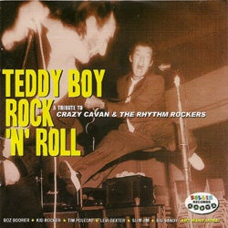 Image of Teddy Boy Rock 'n' Roll Catalogue Number: RRCD010