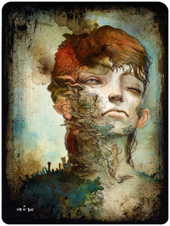 "Image of ""Adrift"" original painting"