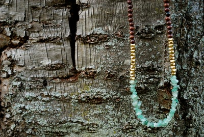 Image of The Green Jade Nomad Necklace