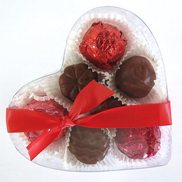 Image of Soap Chocolates - Heart Box