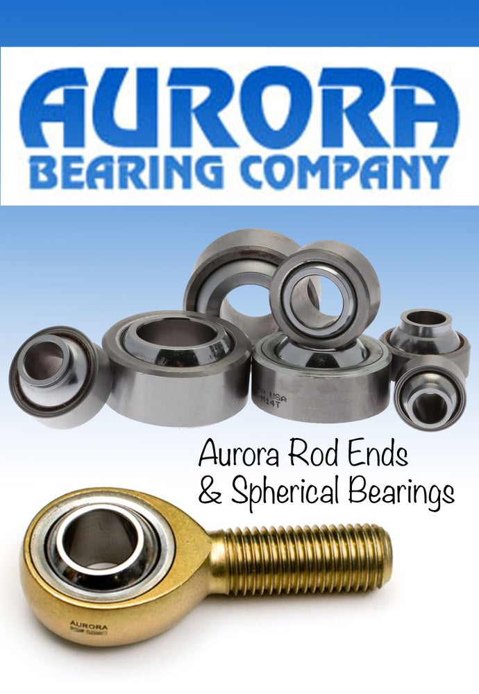 Image of Aurora Rod Ends and Spherical Bearings- All Grades