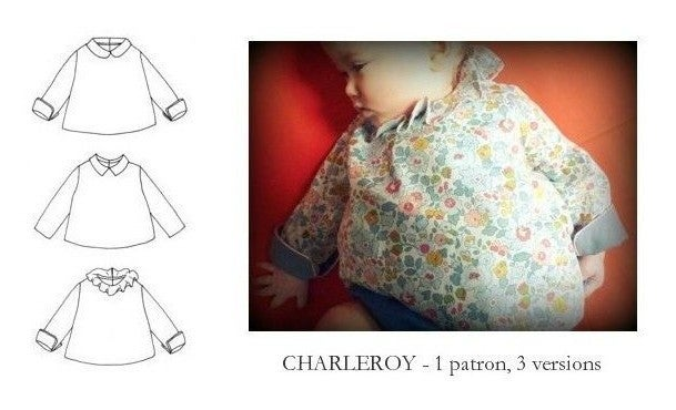 Image of -25% patron CHARLEROY mixte