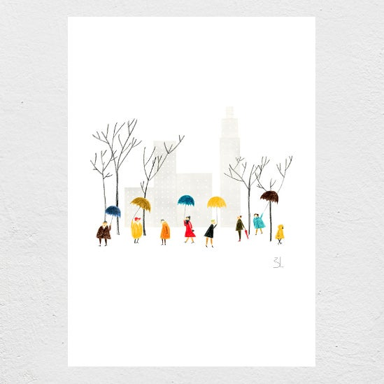 Image of Central Park Print