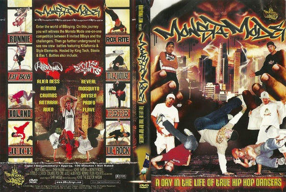 Image of Monsta Mode DVD