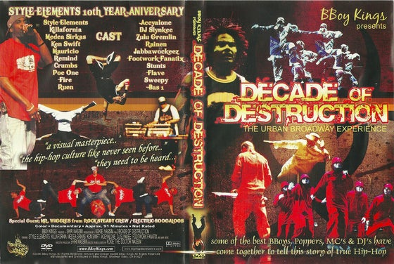 Image of Decade Of Destruction - The Urban Broadway Experience