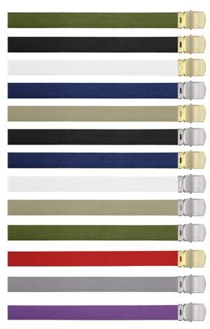 Image of Web Belts, Made in Italy
