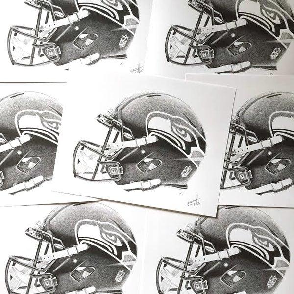 Image of Seahawks Print