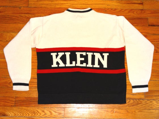 Image of (M) Deadstock Ladies 90's Calvin Klein Heavy Knit Sweater