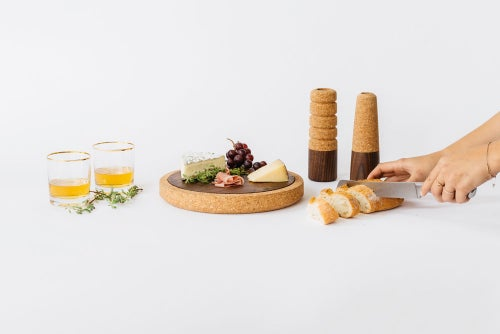 Image of Cork + Wood Cheese Board