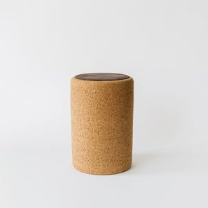 Image of Cork + Wood Stool