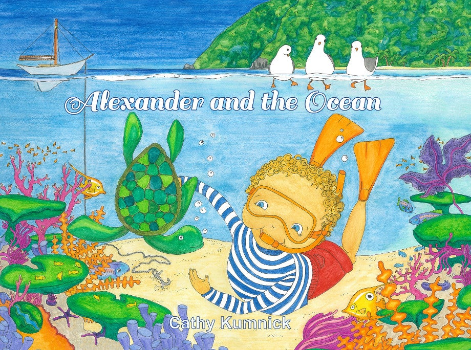 Image of Alexander and the Ocean - Digital iBook