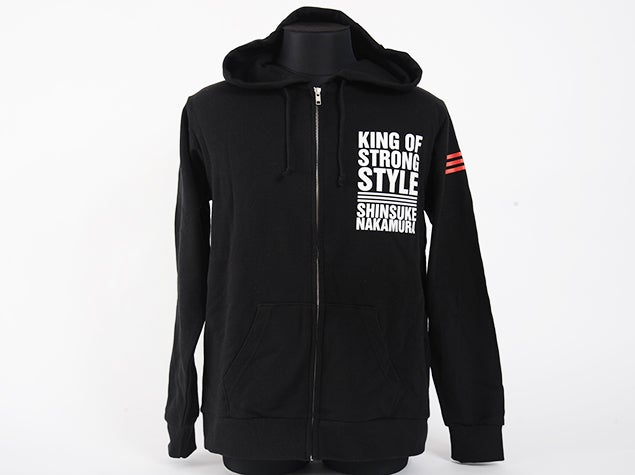 Image of Shinsuke Nakamura 'King Of Strong Style' Zip Hoodie