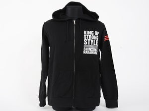 Image of Shinsuke Nakamura 'King Of Strong Style' Zip Hoodie