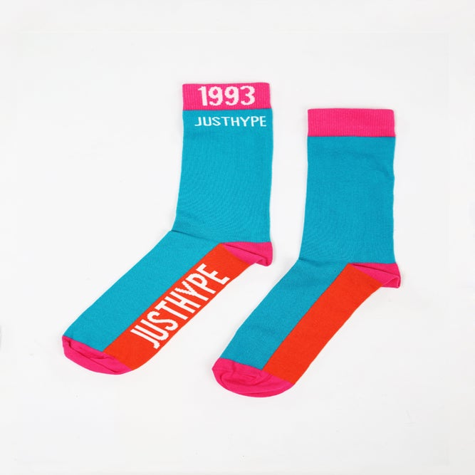 Image of HYPE. RETRO 93 SOCKS