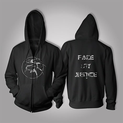 Image of Zonaria Face My Justice Hoodie