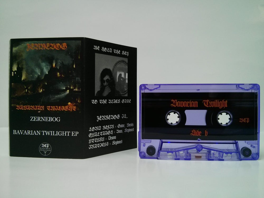 "Image of Zernebog ""Bavarian Twilight"" Cassette"