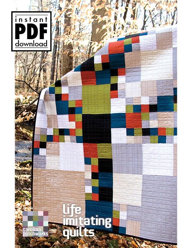 Image of  No. 025 -- Life Imitating Quilts {PDF Version}