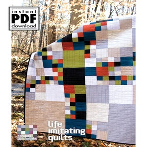Image of  No. 025 -- Life Imitating Quilts {PDF Version}
