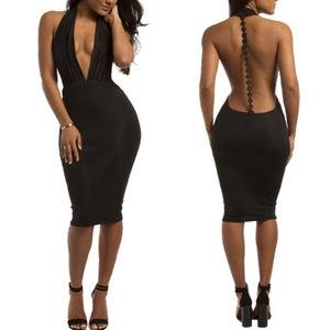 Image of Eve Backless Dress