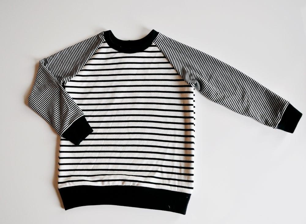 Image of Stripe-Aholic Raglan