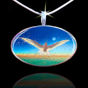 Image of Free Bird Energy Pendant - Break The Bonds That Hold You And Let Your Spirit Soar