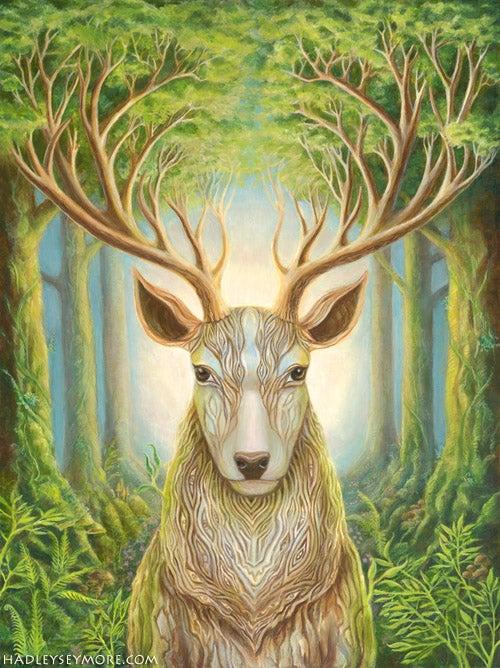 Image of Deer Totem