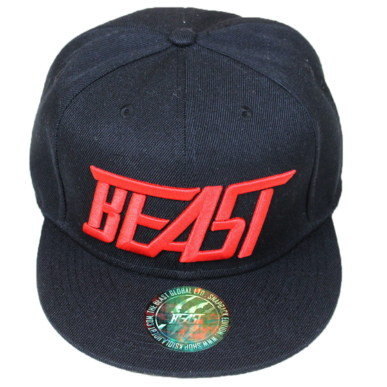 Image of Beast Snapback – Black