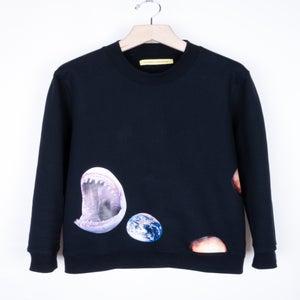 Image of Raf Simons x Sterling Ruby - Shark/Earth Sweatshirt