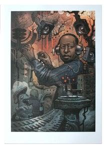 Image of DJ Premier - Lithograph Print