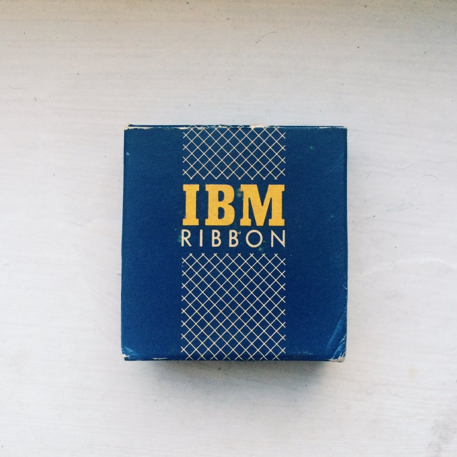 Image of IBM Typewriter Ribbon
