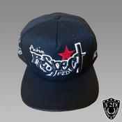Image of PERFORATED LEATHER BRIM F2D SNAPBACK