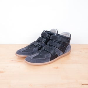 Image of Maison Martin Margiela - Vintage Suede Velcro Sneakers