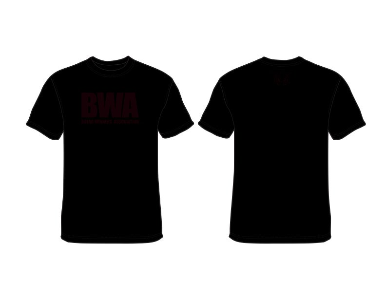 Big bwa t shirt black bwa for How to copyright t shirt designs